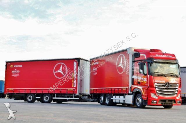 Autotreno Mercedes ACTROS 2545 / JUMBO 120 M3 / VEHICULAR/ EURO 6 /