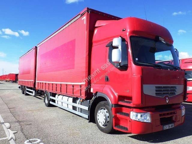 Camião reboque Renault