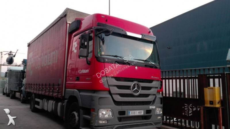 Mercedes  trailer truck