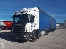 camión remolque furgón estándar Scania