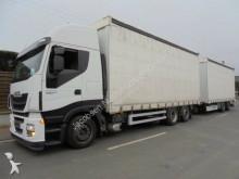 ciężarówka z przyczepą Iveco Stralis 460HiWay*EEV*Fliegl Jumbo*Stapleraufnahm