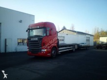 autotreno piattaforma standard Scania