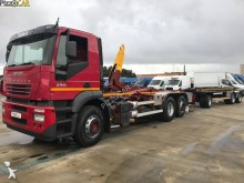 Iveco hook lift trailer truck
