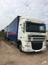 camião reboque DAF XF105 FAR 460