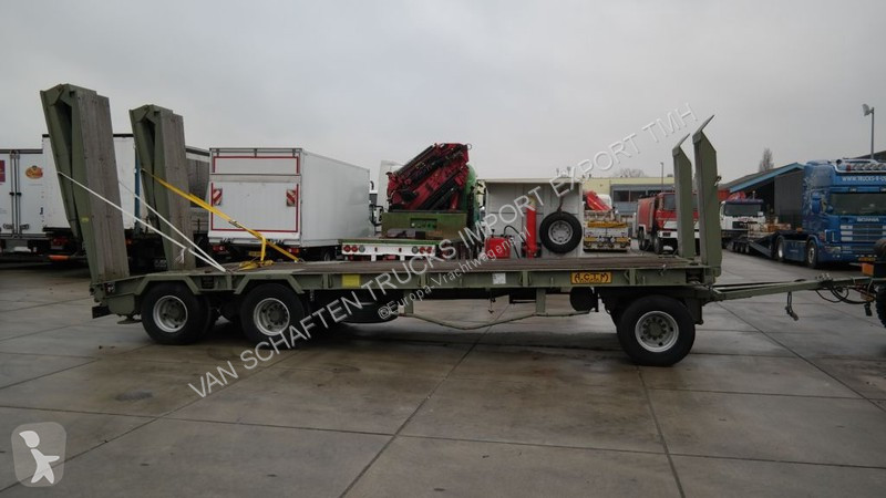 Voir les photos Remorque ACTM SEMI LOW LOADER