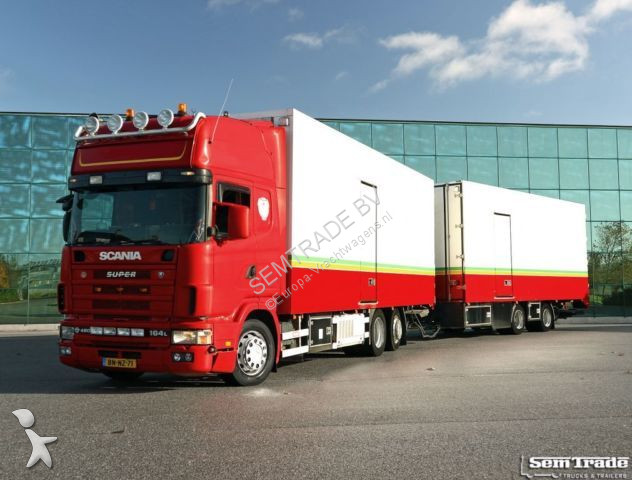 Camion remorque Scania R164 480 V8 KING OF THE ROAD 50CC COMBI