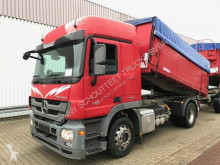 used three-way side tipper trailer truck