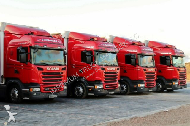 Ciężarówka z przyczepą Scania R 410 / JUMBO 120M3 /VEHICULAR /EURO 6/ RETARDER