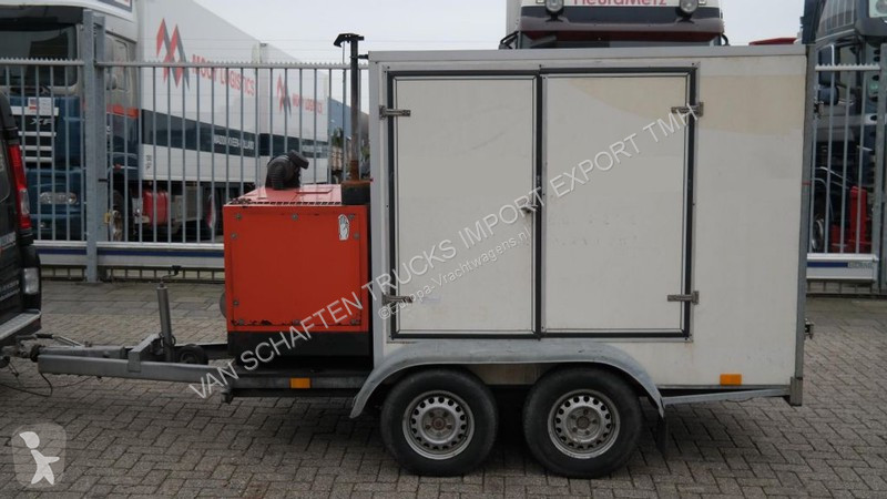N/a TRAILER WITH HIGH PRESSURE ATLAS COPCO UNIT trailer truck