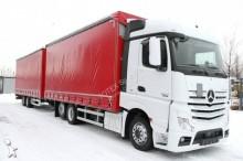 camion cu remorca cu prelata si obloane Mercedes