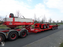 Goldhofer heavy equipment transport trailer truck