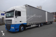camion remorque DAF XF105-460 SC Jumbozug- Intarder- ATE- Durchlade