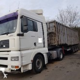 MAN tipper trailer truck