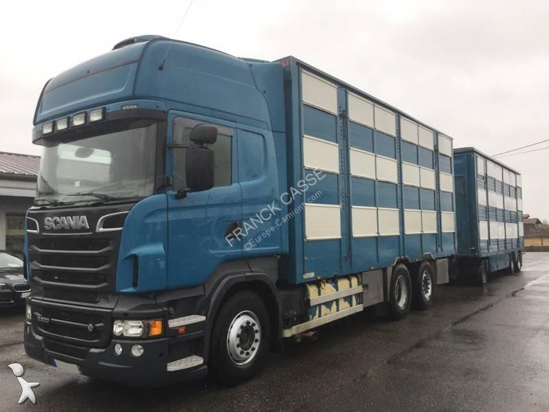 Camion remorque Scania