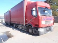 camion remorque savoyarde système bâchage coulissant Renault