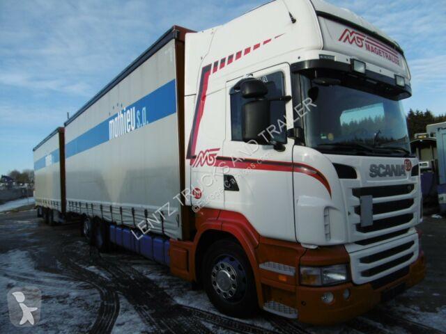 Camion remorque Scania R440-6X2-RETARDER-KOMPLETTZUG