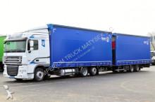 ciężarówka z przyczepą DAF XF 105.460/ 6X2 / JUMBO 120M3 / EURO 5 /