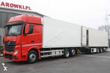 Mercedes refrigerated trailer truck