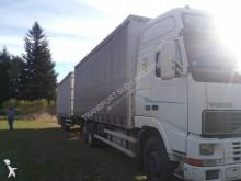 camion remorque savoyarde plateau ridelles bâché Volvo