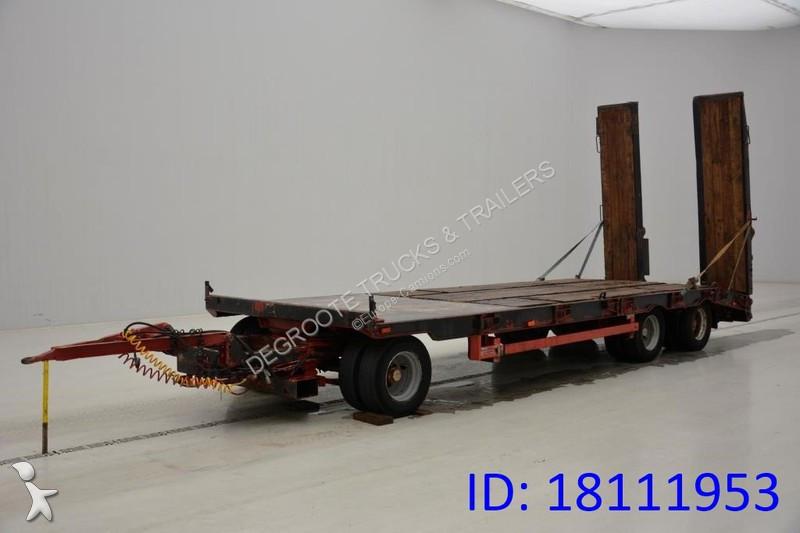 Camion remorque nc Mitteltal Dieplader