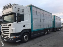camião reboque transporte de gados Scania