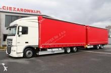 ciężarówka z przyczepą DAF XF105 FAR 460