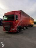 camion remorque fourgon DAF