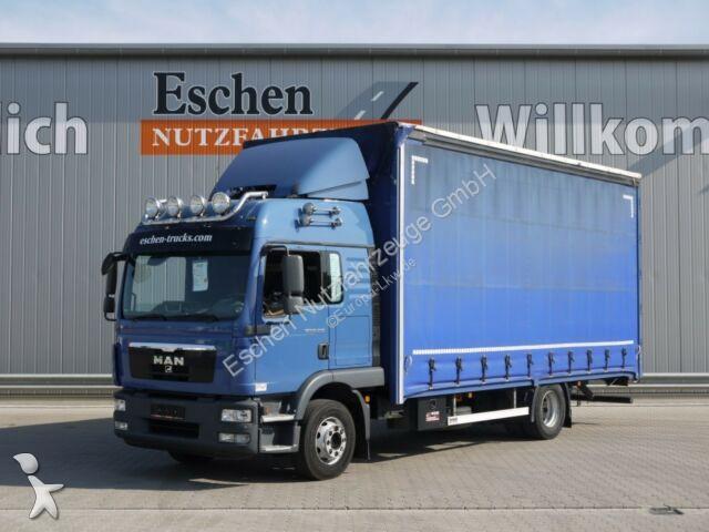 Camion remorque MAN TGM 15.290 BL, Jumbo, Edscha, Schiebegardine