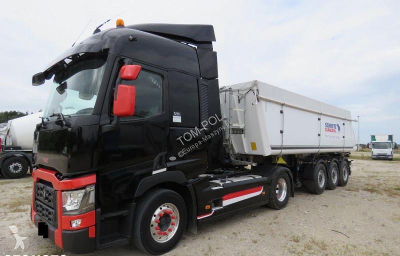 Camion remorque Renault Range T 460 Euro 6 SCHMITZ