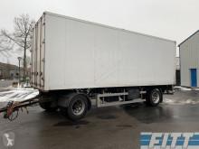 ciężarówka z przyczepą Fruehauf ahw geisoleerde opbouw met doorlaaddeuren en laadklep