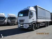 camion cu remorca transport containere Iveco