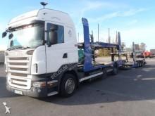 camión remolque portacoches Scania