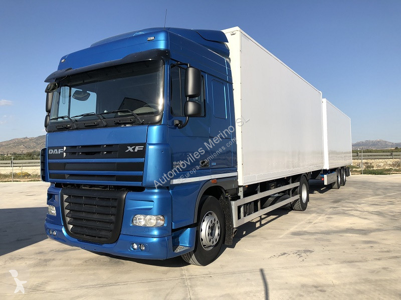 View images DAF XF 105.460 Y REMOLQUE KRONE trailer truck