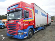 ciężarówka z przyczepą Scania R440-6X2-KOMPLETTZUG-HUBDACH