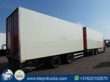 camion remorque nc CLOSED BOX tail lift combi