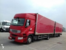 ciężarówka z przyczepą furgon używana