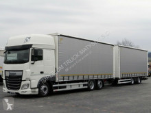 camion remorque DAF XF 460/JUMBO 120M3/VEHICULAR/E 6/ACC/DOPPELSTOCK