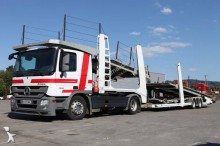 Mercedes car carrier trailer truck