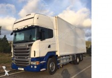 Scania box trailer truck