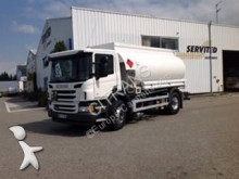 Scania oil/fuel tanker trailer truck