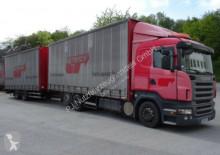 Scania Lastzug Schiebeplanen