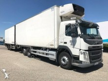 Volvo multi temperature refrigerated trailer truck