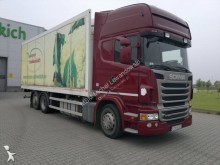 Scania mono temperature refrigerated trailer truck