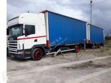 autotreno cassone centinato Scania