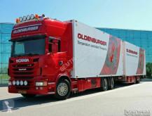 camion remorque frigo Scania