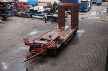 přívěs nc Trailer Semi Low Loader/ Hydraulic ramps/ Low height 90cm