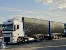 camion remorque DAF XF 105.460/6X2/JUMBO 120M3 /EURO 5 / FULL OPTION