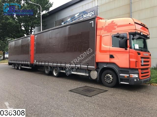 View images LAG Middenas  10 Wheels, Opticruise, 3 pedals, Retarder, Airco, Topline, Jumbo, Combi trailer truck