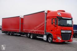 vrachtwagen met aanhanger DAF - 106 / 440 / SSC / EURO 6 / RETARDER / ACC / ZESTAW + remorque