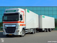 camión remolque DAF XF460 FAR SSC EURO 6 6X2 TOP CONDITION 50 CC FRIGO COMBI